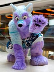 Keenora Fluffball Fursuit Midwest Furfest 2012
