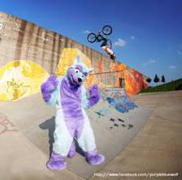 Keenora Fluffball - Fursuit BMX by Keenora
