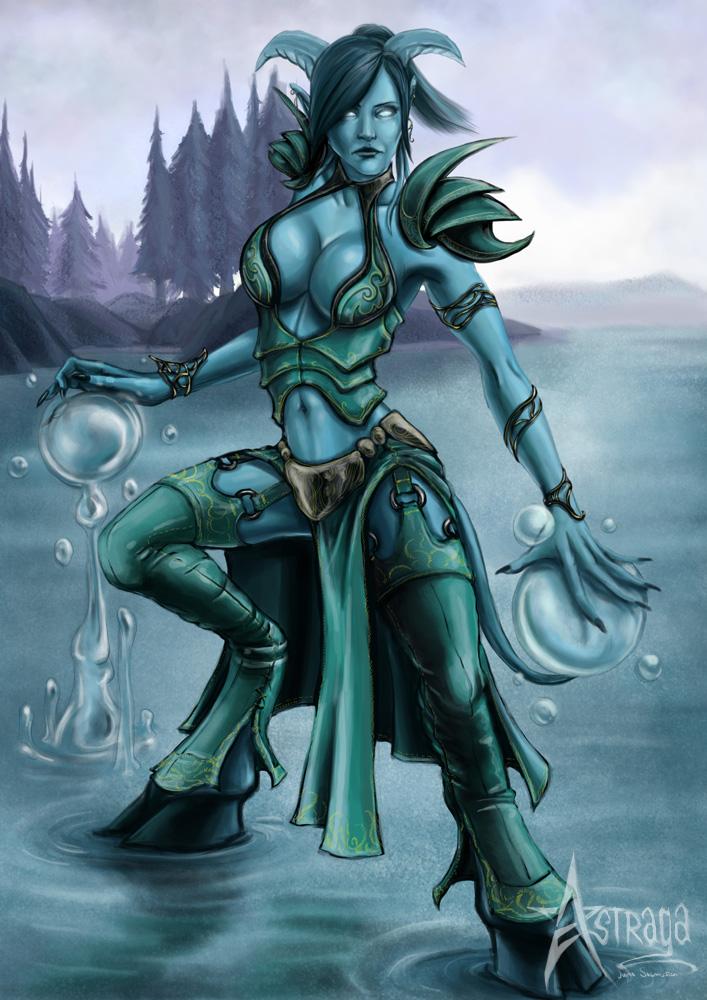Blue Tiefling Druid Related Keywords Suggestions Blue Tiefling