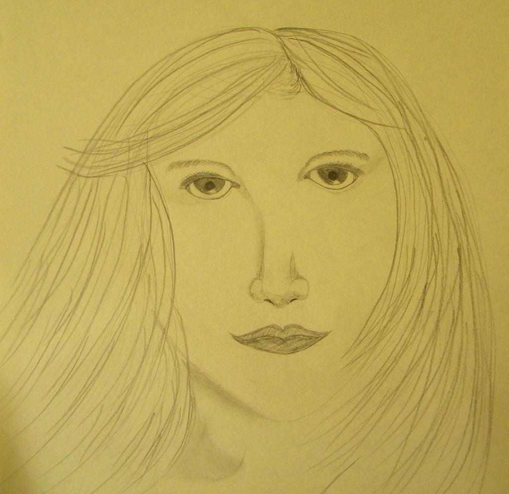 Self portrait by sweetaj6