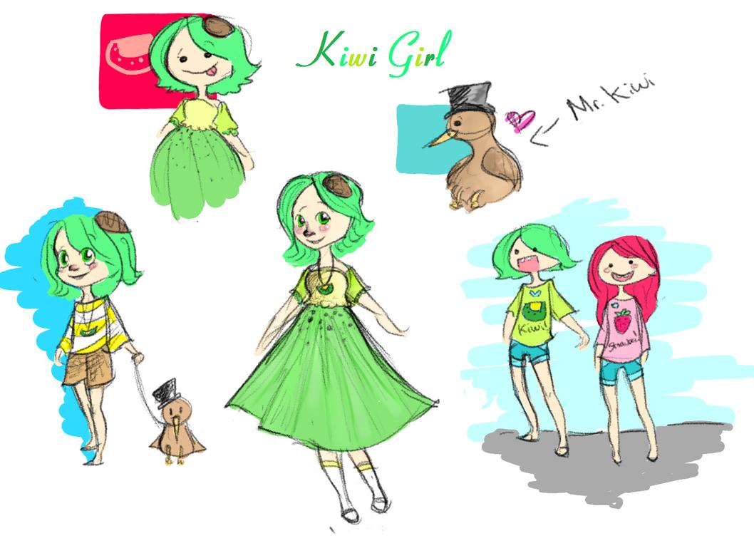 Kiwi girls naked girl cute