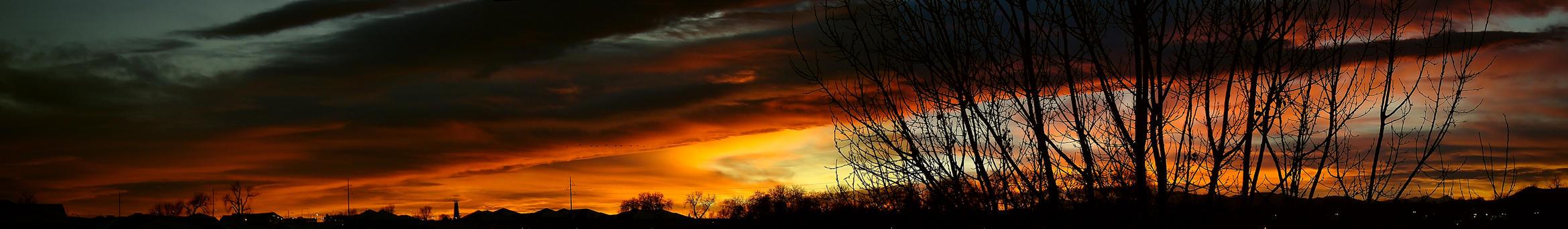 Sunset Panorama by tim-bot
