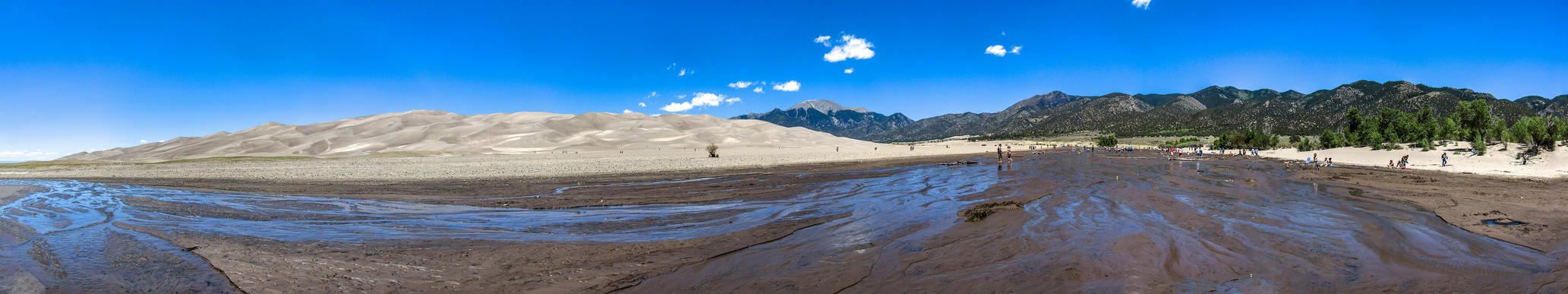Great Sand Dunes Panorama by tim-bot