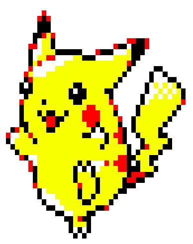 Pokemon Crystal Pikachu Sprite Pixel Art By Zombiefacedman On Deviantart
