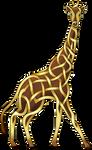Celtic Knot Giraffe