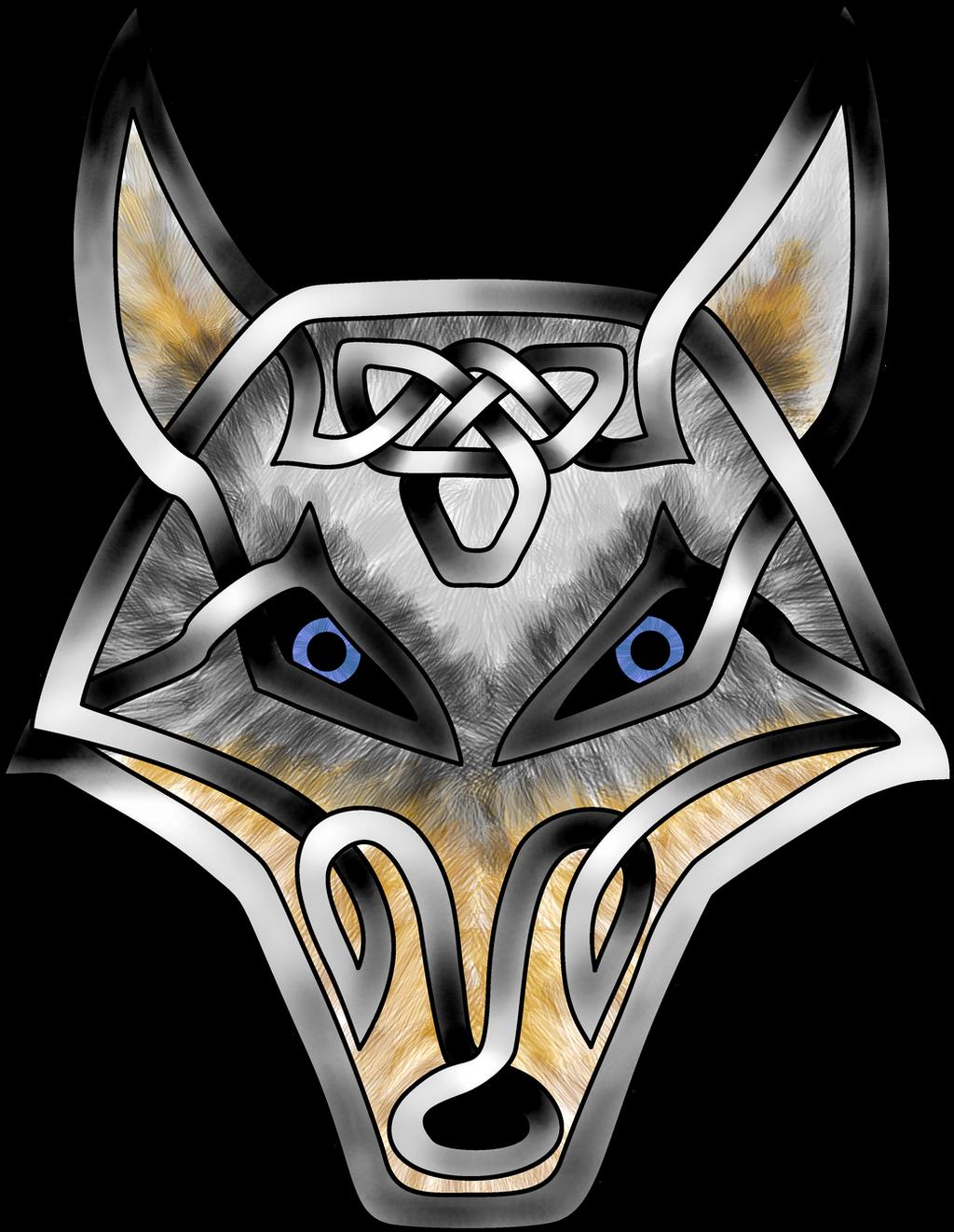 Celtic Knot Wolf Face By KnotYourWorld On DeviantArt