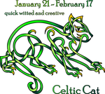 Celtic Cat Zodiac