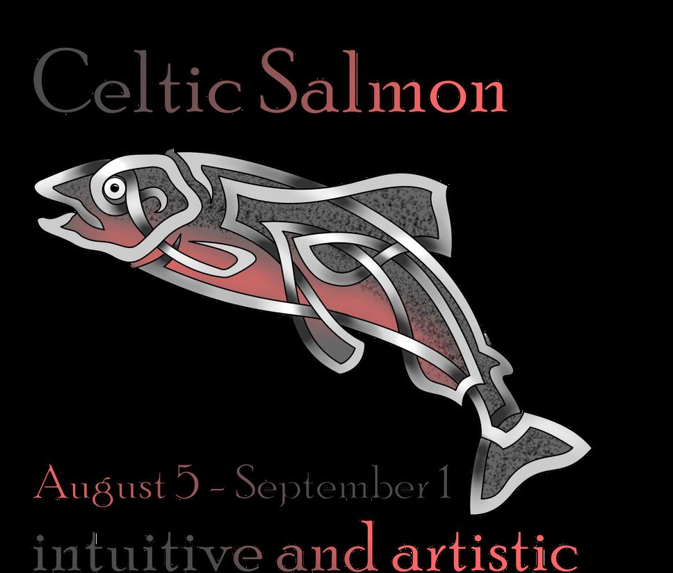 celtic salmon by knotyourworld on deviantart. Black Bedroom Furniture Sets. Home Design Ideas