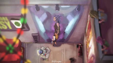 Street Wall by AmyGraphic