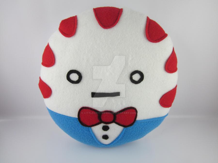 Peppermint Butler Plush Pillow by LittleCritters00