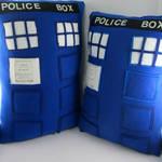 Doctor Who Tardis Pillows