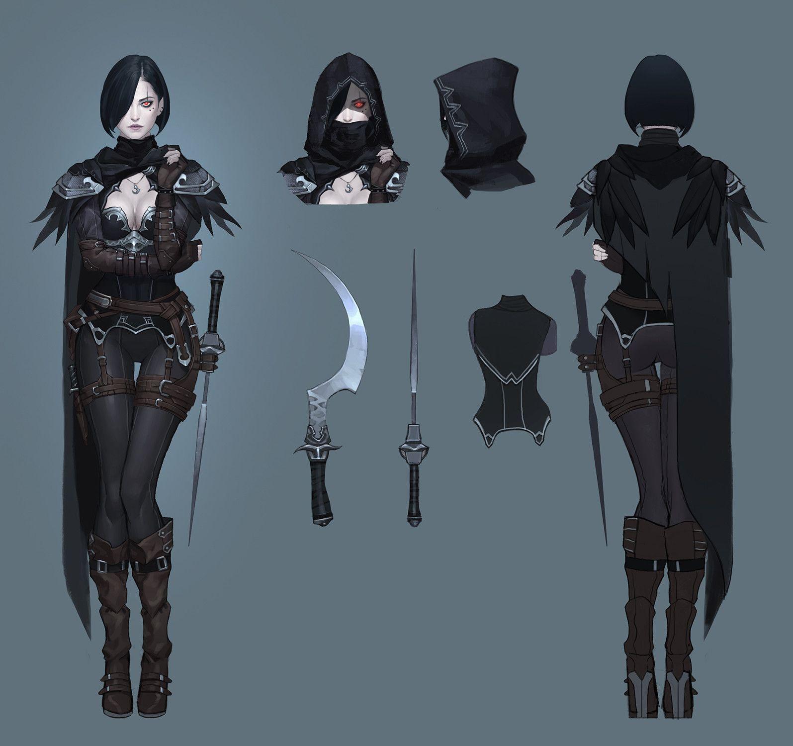 Characters: Human - Page 3 Crowe_terronian_by_reirikamura-dcdobma