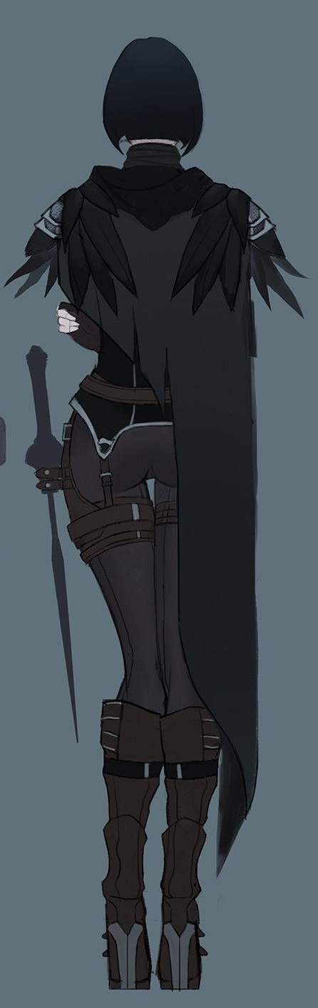Characters: Human - Page 3 Crowe_s_rear_by_reirikamura-dcdocj9