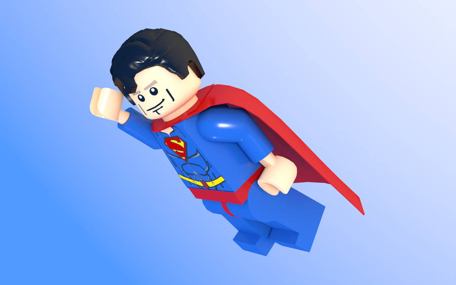 Brick Superman by renierD