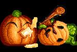 Coupla Pumpkins