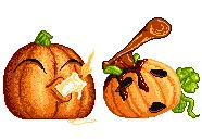 Coupla Pumpkins by lostforeveragain