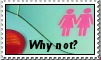 Why not? Stamp by lostforeveragain