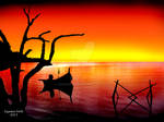 Sunset Boatman