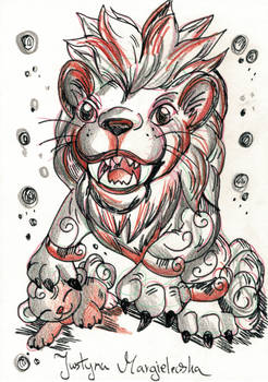 The Chinease lioness