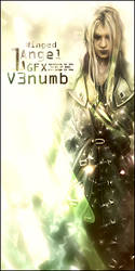 sEphiroth veritical by v3numb
