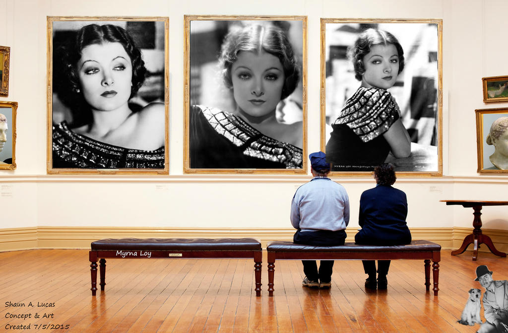 Myrna Loy Beauty and Art gallery  by 19andMugsy