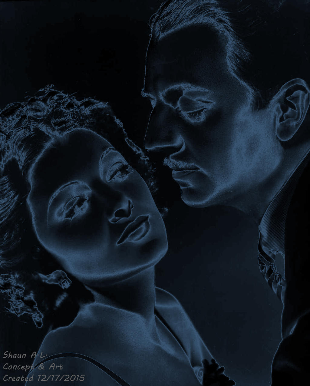 Myrna Loy with William Powell by 19andMugsy