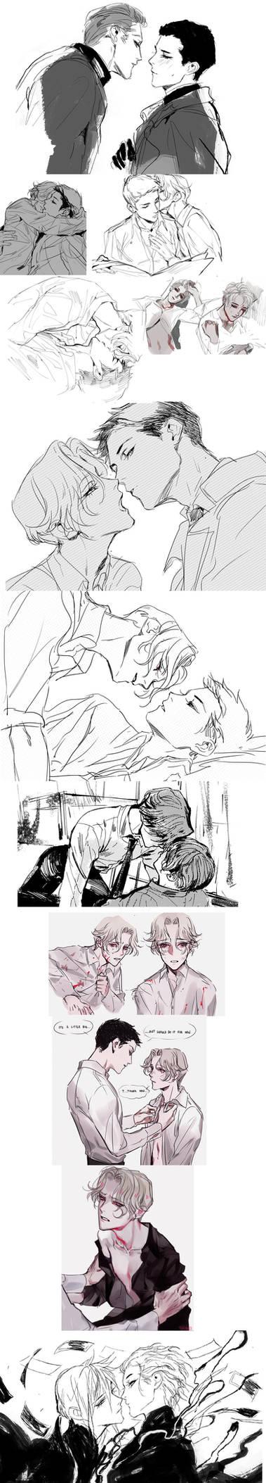 gay sketch dump