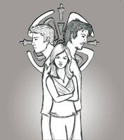 Audrey and the Boys - Haven by Loralthea