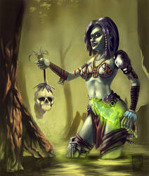 Witch In The Swamp