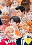 OrangeCollage by J-Kookie