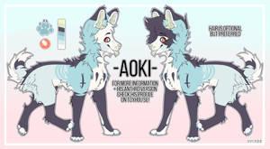 AOKI - Ref Sheet 2k18 by J-Kookie