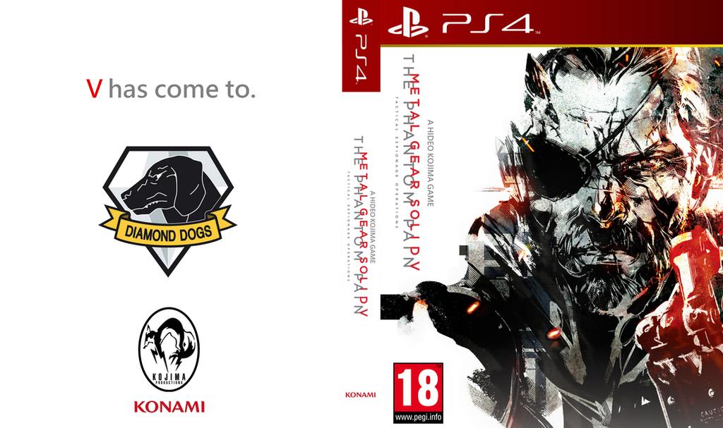 Metal Gear Solid V : The Phantom Pain Box Art by ibolito on DeviantArt