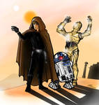 Tatooine - IT'S HOT!!!!!