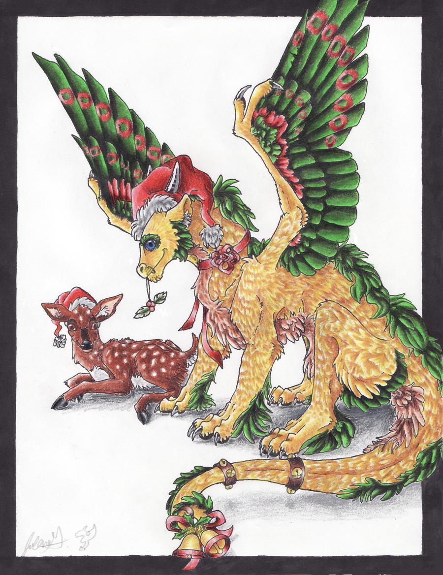Dragon Play - Page 5 Very_merry_dragon_christmas_by_jolaangavatarlover-d358eiv