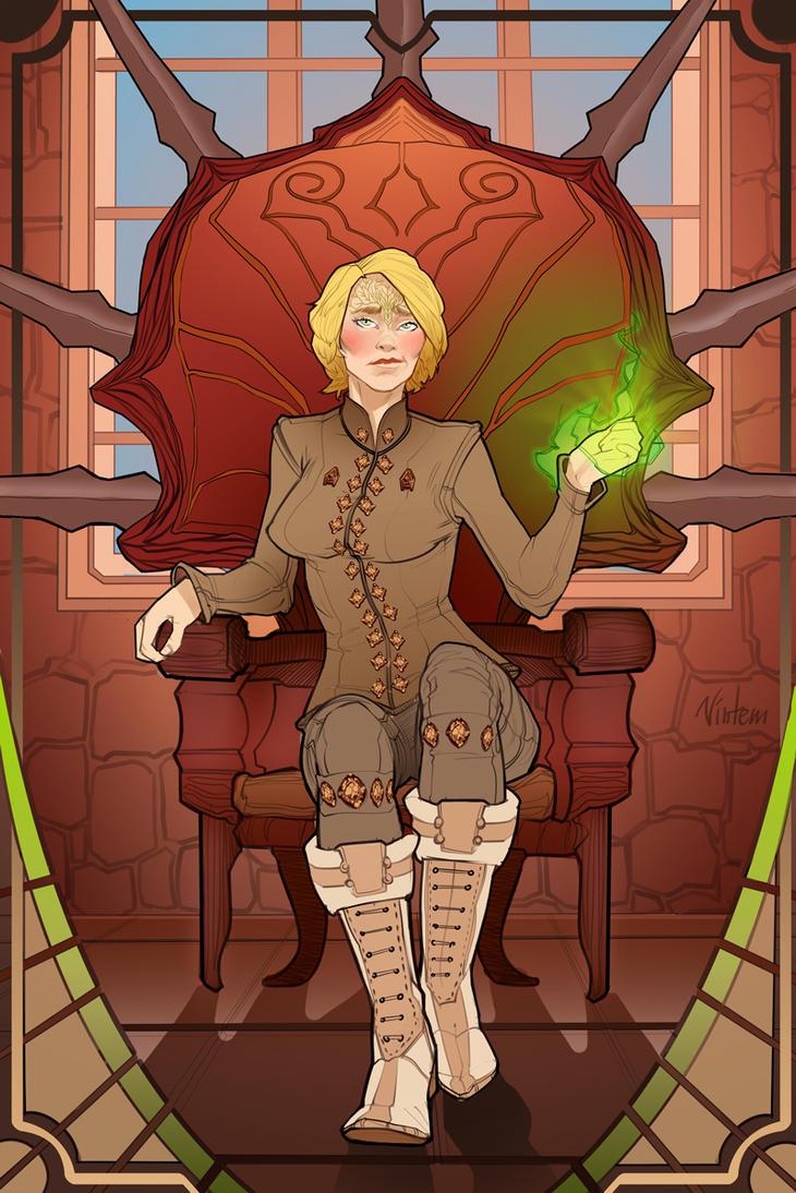 Dragon Age Inquisition random elf by VINTEM
