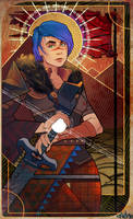 Dragon Age Inquisition tarot by VINTEM