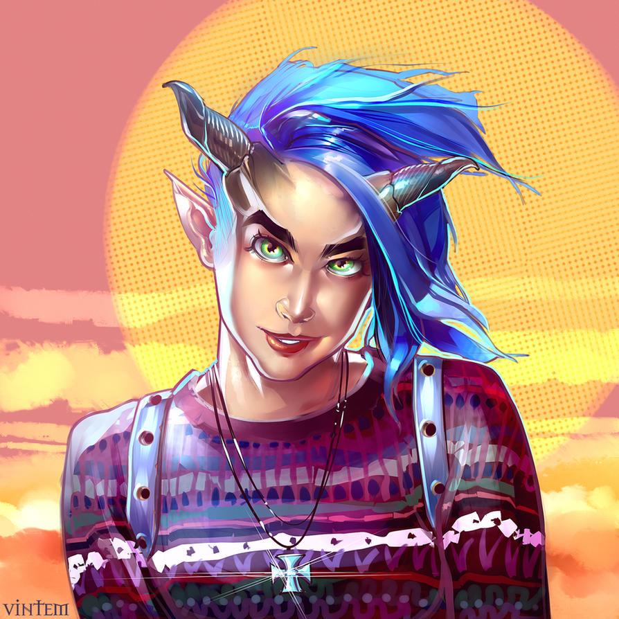 Devilgirl by VINTEM