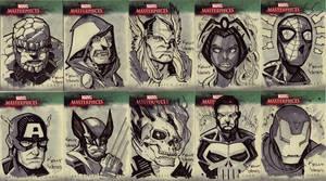 Marvel Masterworks Sketchcards