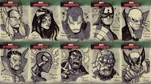 Marvel Masterworks Sketchcard2