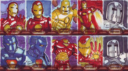Iron Man 2 Sketchcards