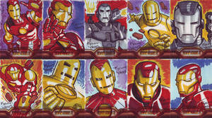 more Iron Man 2 Sketchcards