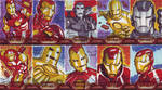 more Iron Man 2 Sketchcards by KellyYates
