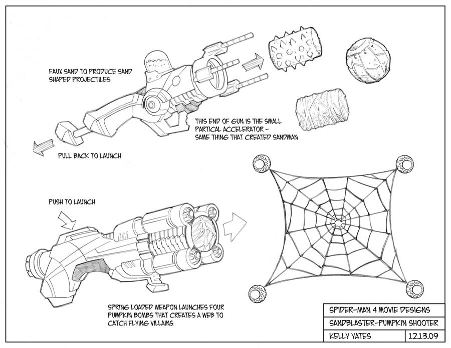 how to make a spiderman web shooter that shoots webs