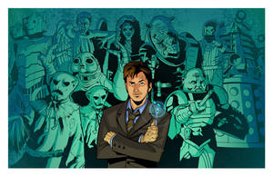 Doctor Who Villain's by KellyYates