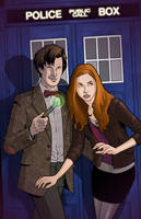 The Doctor and Amy by KellyYates