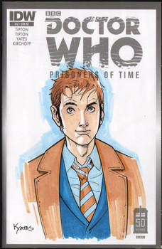10th Doctor Marker Sketch