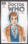 10th Doctor Marker Sketch by KellyYates