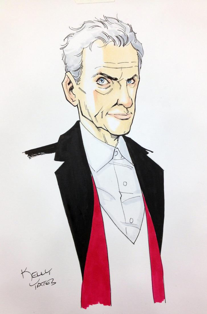 12th Doctor by KellyYates
