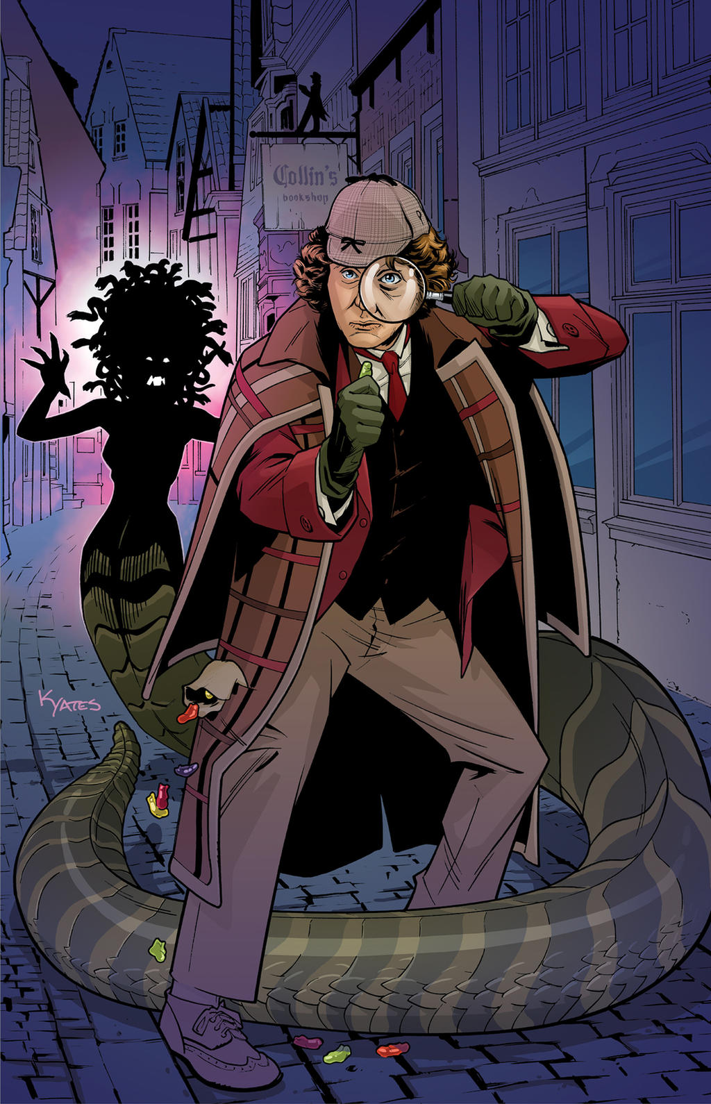 4th Doctor Titan Comics by KellyYates