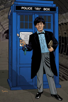 2nd Doctor and TARDIS